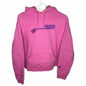 Roxy Women's Pink Pouch Hoodie